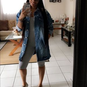 Over Sized Jeans Jacket